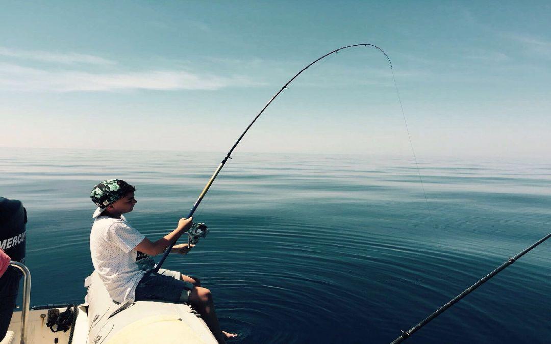 Pescare in Croazia sull`isola di Dugi otok