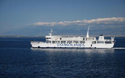 Ferries en Croatie
